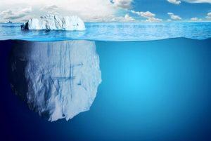 toppen av isberget
