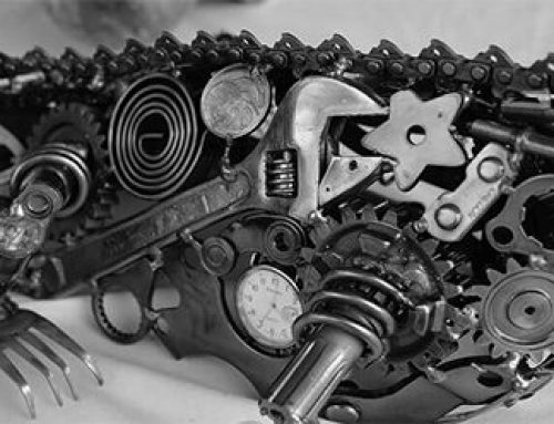 Stoppa inte grus i konverteringsmaskineriet